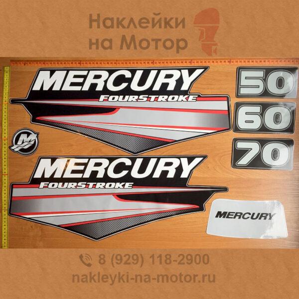 Наклейки на лодочный мотор Mercury 50 60 70