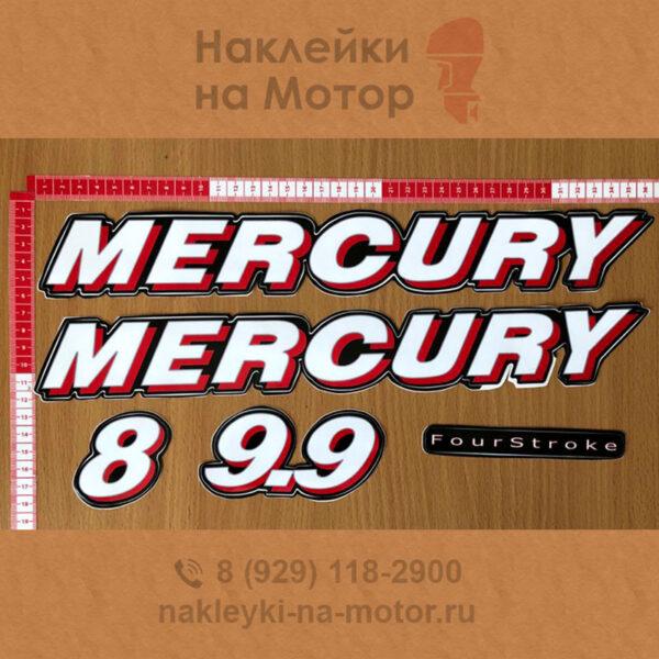 Наклейки на лодочный мотор Mercury 8 9 9