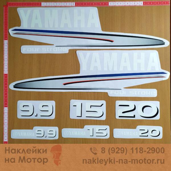 Наклейки на моторы Yamaha 9 15 20