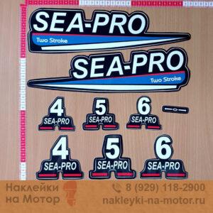 Наклейки на мотор Sea Pro 4 5 6