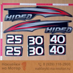 Наклейки на мотор Hidea 25 30 40