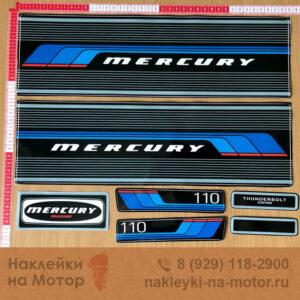 Наклейки на лодочный мотор Mercury 100