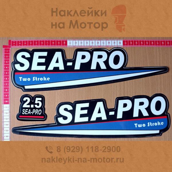 Наклейки на мотор Sea Pro 2 5