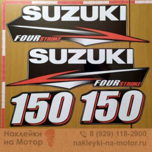 Наклейка на лодочный мотор Suzuki 90