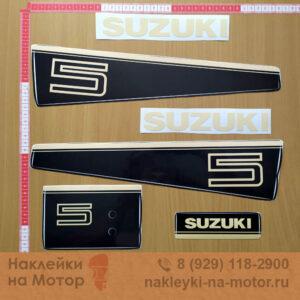 Наклейка на лодочный мотор Suzuki 5