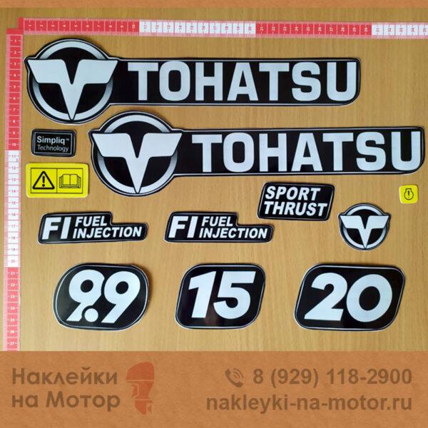 Наклейки на мотор Tohatsu 9 9 15 20
