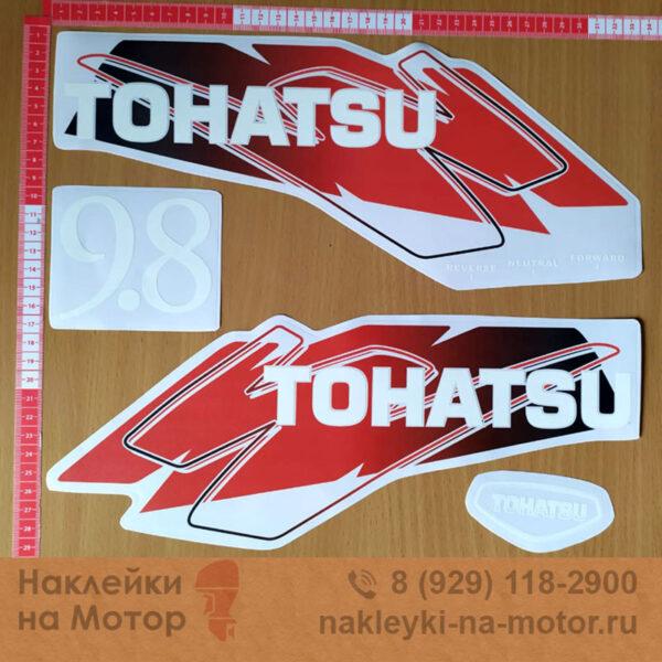 Наклейки на мотор Tohatsu 9