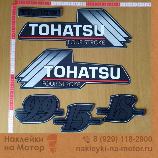 Наклейки на мотор Tohatsu 9 15 18