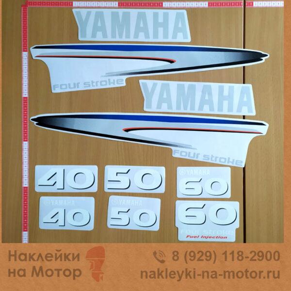 Наклейки на моторы Yamaha 40 50 60