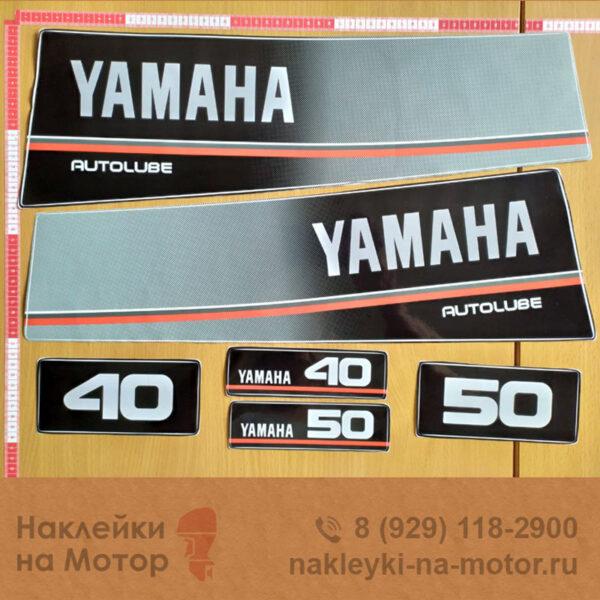 Наклейки на моторы Yamaha 40 50