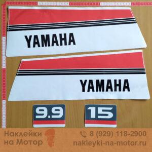 Наклейки на моторы Yamaha 9 15